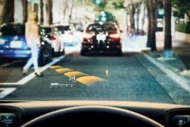 Denso Achieves World's Largest Head-up Display