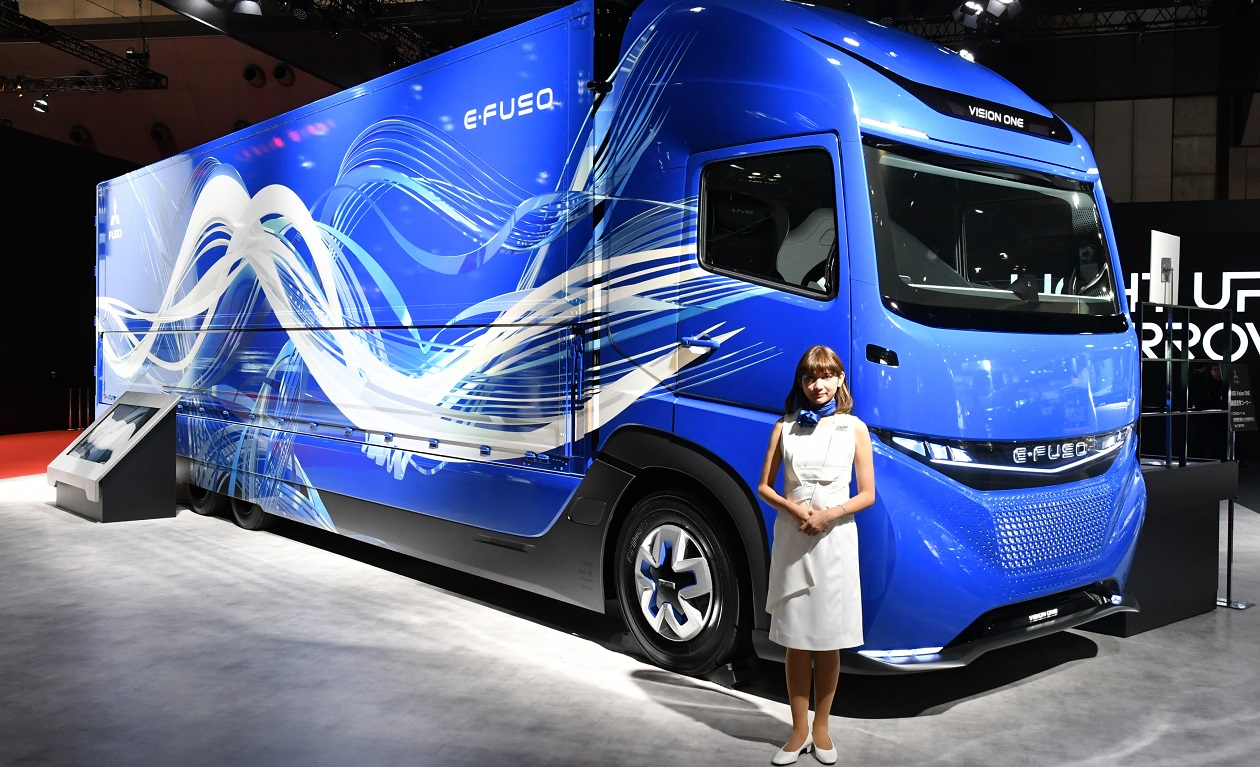 mitsubishi fuso targets 50  global sales increase by 2020