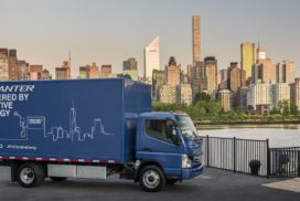 Mitsubishi Fuso Prepares to Go All in on Electric Trucks and Buses