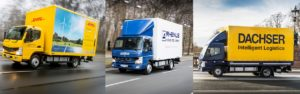 Mitsubishi Fuso Delivers All-Electric eCanter Truck to Customers in Europe