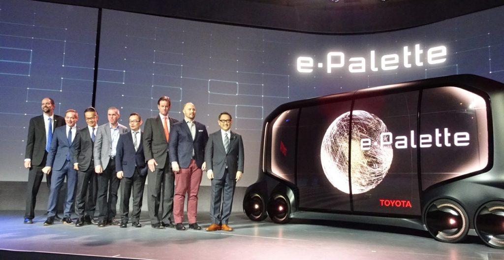 Toyota Unveils New e-Pallete Vehicle Concept at CES 2018 ...