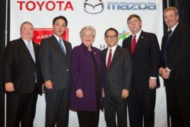 Toyota, Mazda Select Huntsville Alabama for New JV Plant