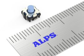 Alps Electric Begins Production of New Switch Series