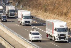 Japan Completes Truck Platooning Tests on Shin-Tomei Expressway, Prepares for Next Steps
