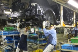 Japanese Vehicle Production up 5% in 2017