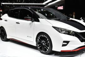 Nissan Leaf Receives Top Rating in Collision Safety Performance