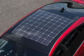 NEDO: Improved Solar Panels Could Allow EVs to Run Without Charging