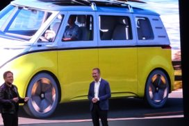 Self-Driving Vehicle Tech Showcased at CES 2018