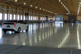 Yokohama Rubber Opens Indoor Ice Track Facility for Testing Winter Tires
