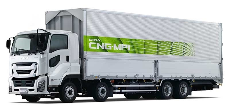 Captivating Isuzu Plans Field Test For New Heavy Duty LNG Truck   Japan Automotive Daily