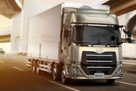 UD Trucks Readies Quon for 8-Liter Turbo Engine