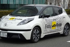 Nissan, DeNA to Start Field Tests for Driverless Easy Ride Service