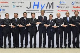 Japanese Automakers and Energy Firms Form New Company to Build Hydrogen Stations