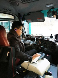 NEC Tests Driver ID Service for 5G Connected Buses in South Korea