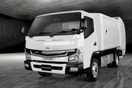 Mitsubishi Fuso Targets Development of All-Electric Garbage Truck