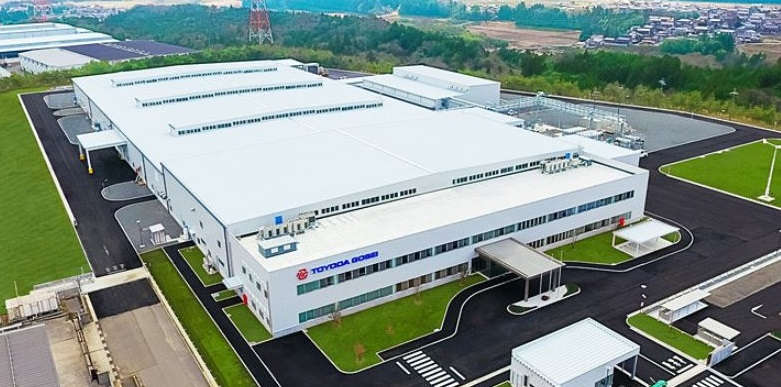 Toyoda Gosei Builds New Plant for FCV High-Pressure Hydrogen Tanks