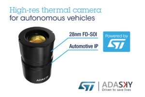 STMicroelectronics Teams up With Israeli Venture on Infrared Sensing Technology
