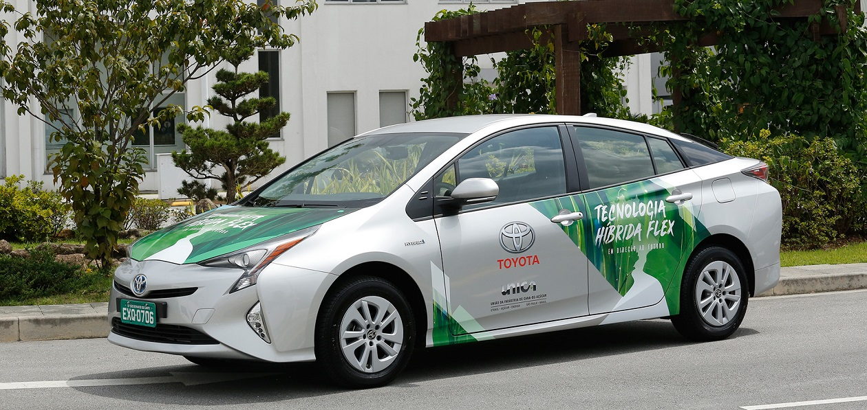 Toyota Unveils Hybrid Flexible-Fuel Vehicle in Brazil