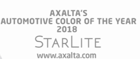 Axalta Names StarLite as 2018 Color of the Year