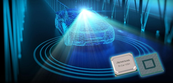 Renesas Delivers New System-on-Chip for Use in Level 3, Level 4 Autonomous Driving