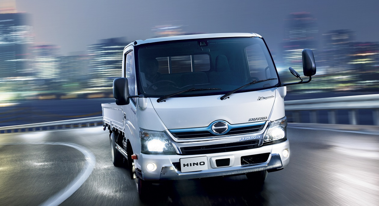 Hino Motors Aims for New Electric Truck Launch in Early 2020s