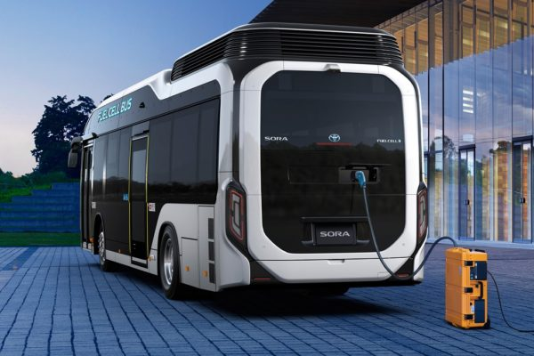 Toyota Launches Sora FC Bus