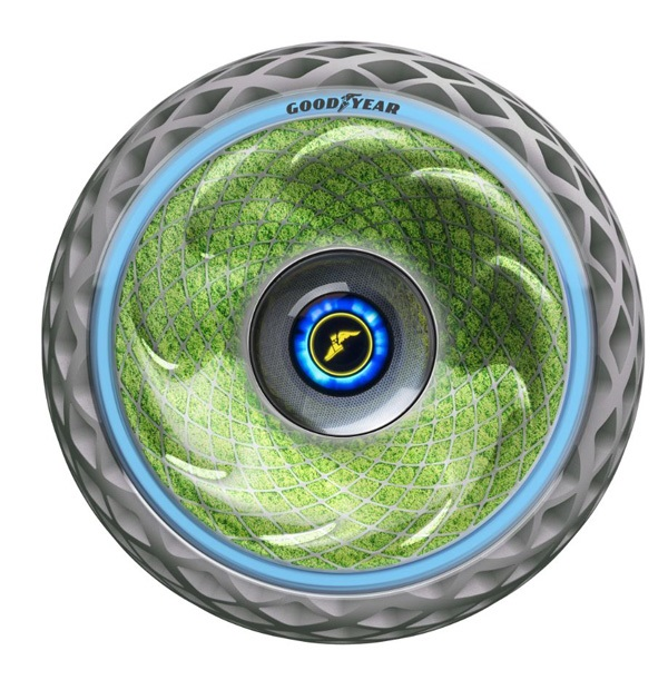 Goodyear Develops Tire Able to Create Oxygen Through Photosynthesis
