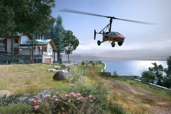 Government to Support Flying Car Development