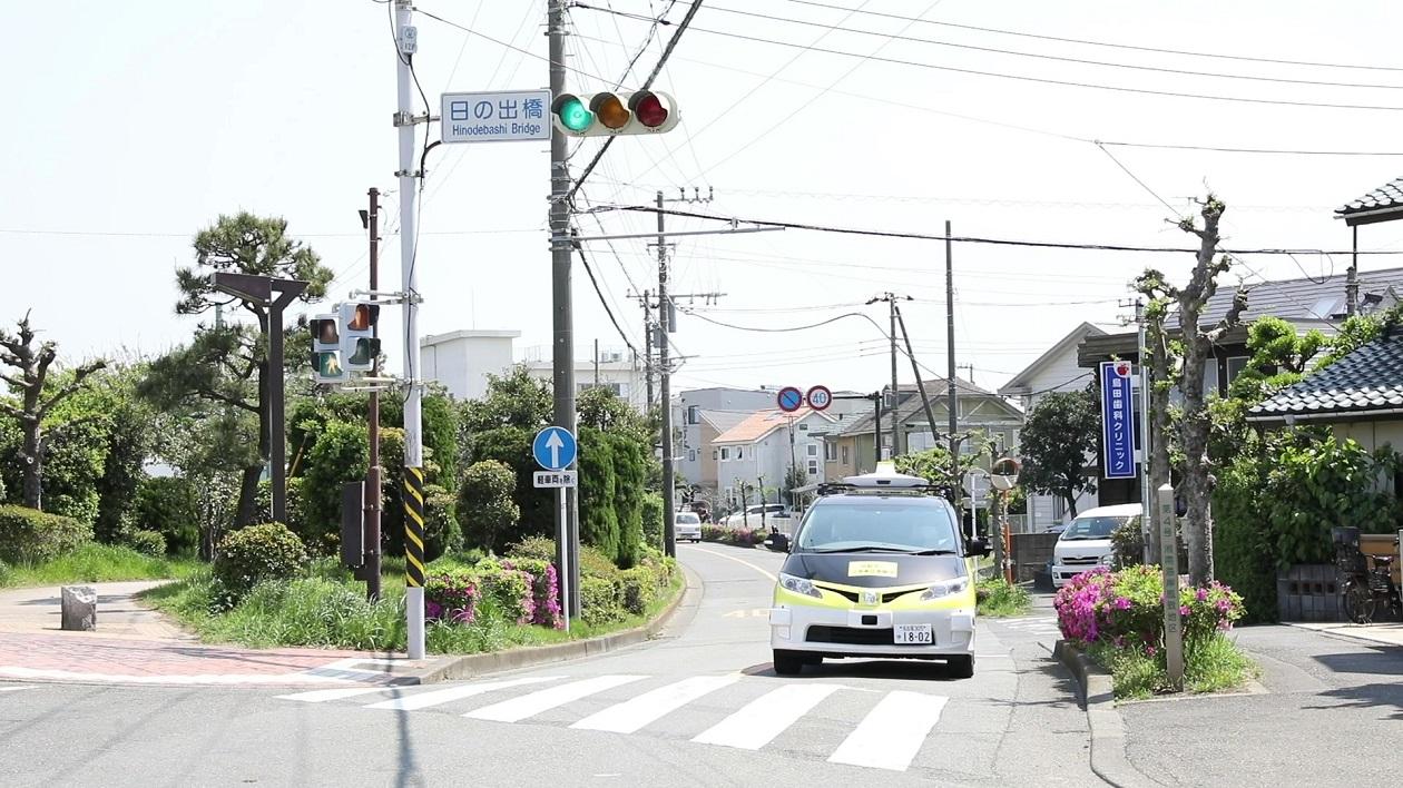 Nippon Signal, DeNA Leverage Radio Technology in Successful Autonomous Driving Experiment