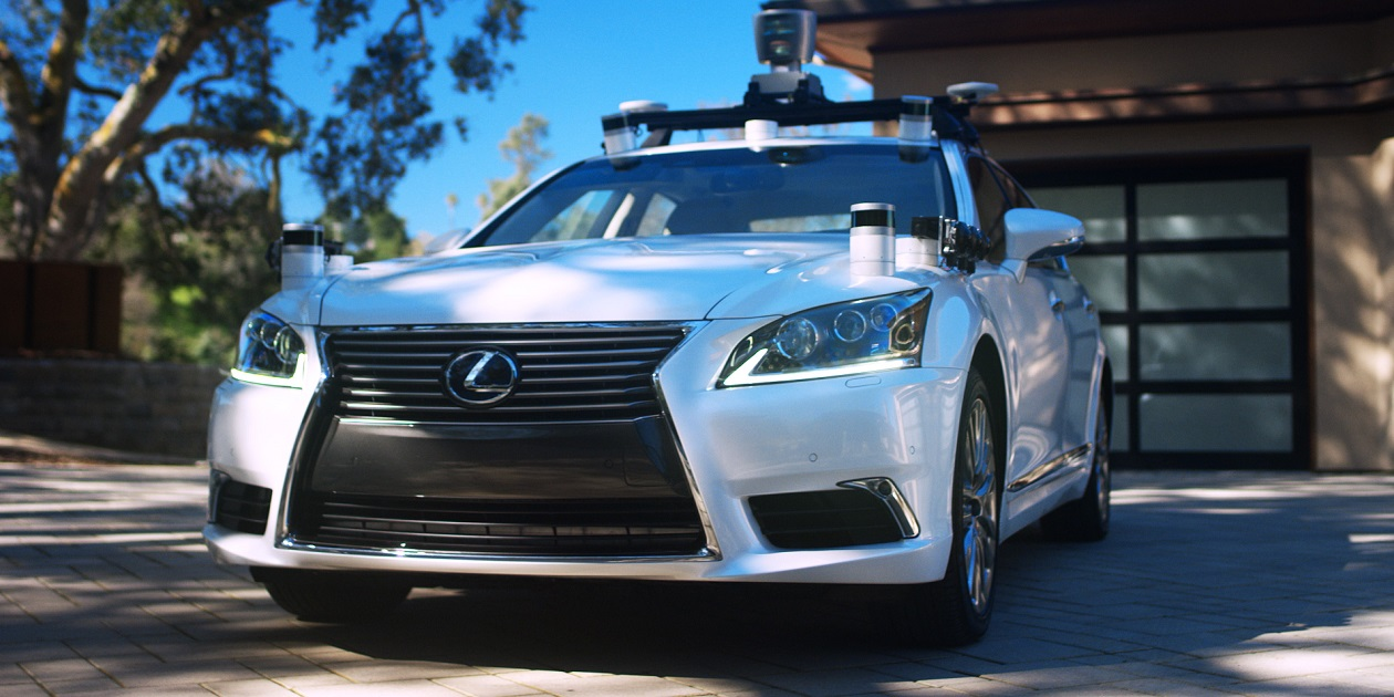 Toyota Showcases Self-Driving Test Vehicle in California