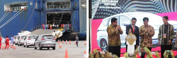 Mitsubishi Motors Begins Exports of Indonesian-Assembled Xpander MPV