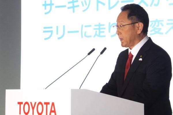 Toyota President Akio Toyoda Reveals Plans to Focus More on Mobility Services