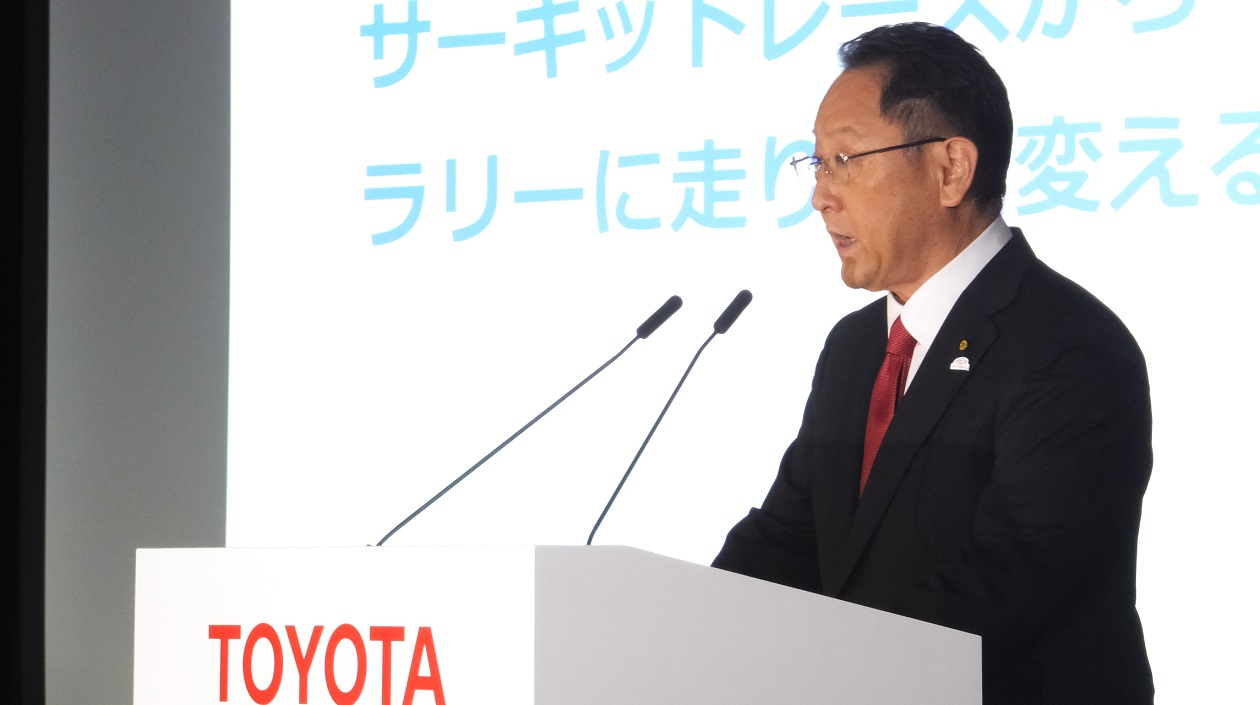 Toyota President Akio Toyoda Reveals Plans to Focus More on Mobility Services