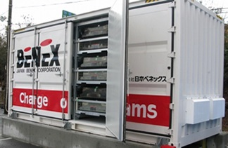 Sumitomo, Fuji Electric and Japan Benex Develop Storage Battery System Using Recycled EV Batteries