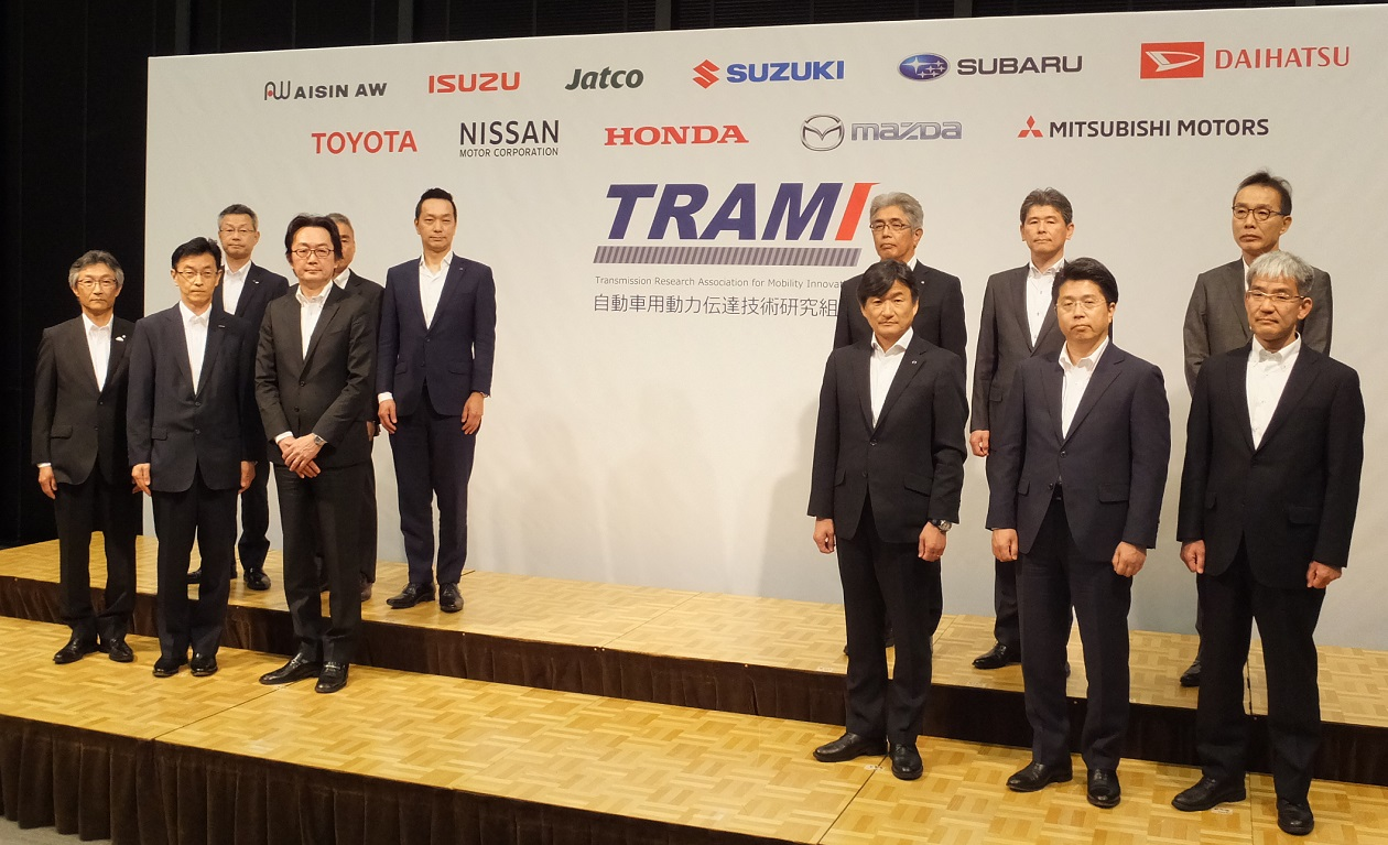 Japanese Automakers, Transmission Manufacturers Come Together to Create TRAMI Research Team