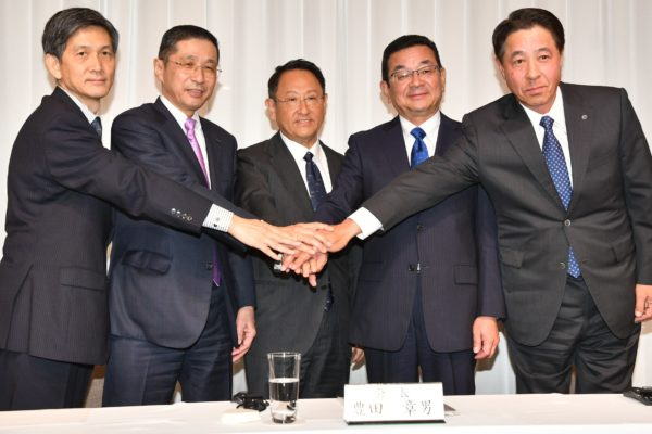 Toyota's Akio Toyoda Resumes Role of JAMA Chairman
