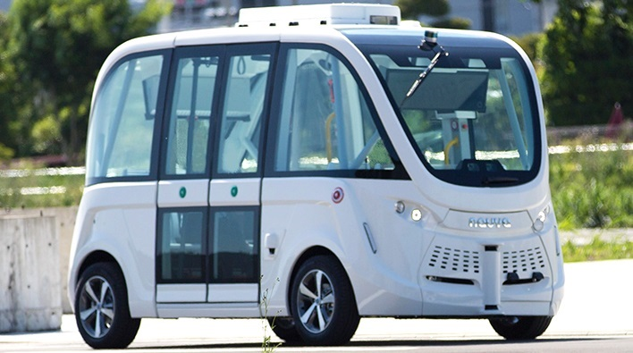 SB Drive Tests Level 3 Self-Driving Bus Technology in Hyogo Prefecture