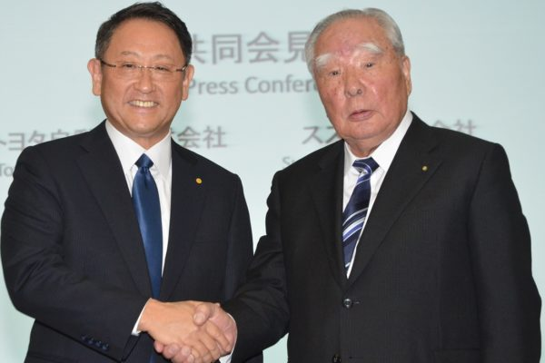 Toyota, Suzuki Hold Discussions on Joint Projects in Technology, Production and Market Development