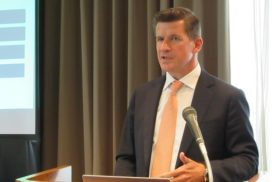 Wallenius Wilhelmsen Holds FCCJ Press Conference on Technology, Car Shipping Implications